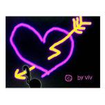 amor para nunca tarjeta postal
