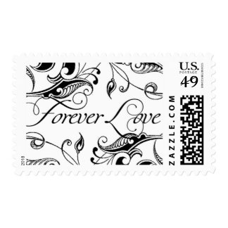 Amor para siempre C de Ceci Nueva York Timbre Postal