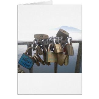 Amor para siempre tarjeta de felicitación