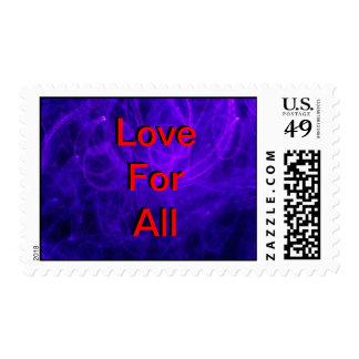 Amor para todos en rojo franqueo
