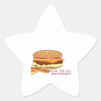 Amor para todos los cheeseburgers colcomania cuadrada