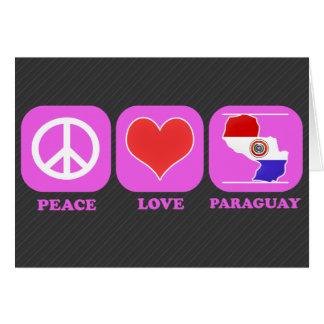 Amor Paraguay de la paz Felicitación