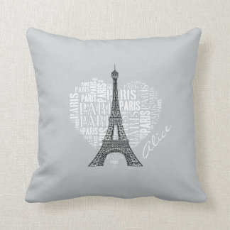 Amor París Cojín