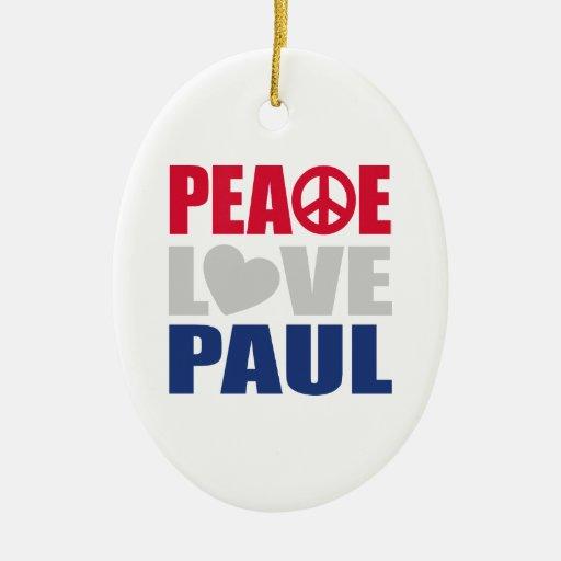 Amor Paul de la paz Ornamentos De Reyes