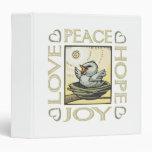 Amor, paz, esperanza, alegría