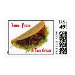 Amor, paz, y grasa del Taco Sellos