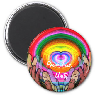 Amor, paz y Unity_ Iman De Nevera