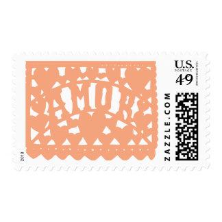 Amor - Peach Stamp