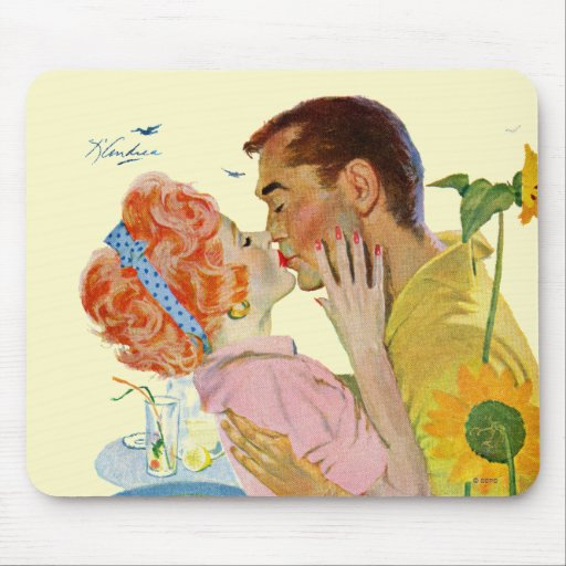 Amor-Pegado Alfombrilla De Raton