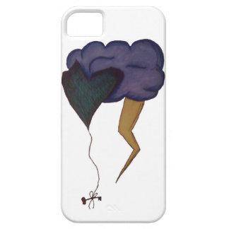 Amor pegado iPhone 5 fundas