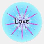 Amor (pegatina de la virtud)