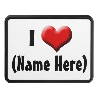 Amor personalizado de I… El día de San Valentín Tapa De Remolque