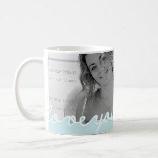 Amor personalizado día de San Valentín de la foto  Taza De Café
