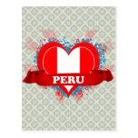 Amor Perú del vintage I Tarjeta Postal