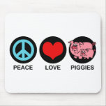 Amor Piggies Mousepad Tapete De Ratón