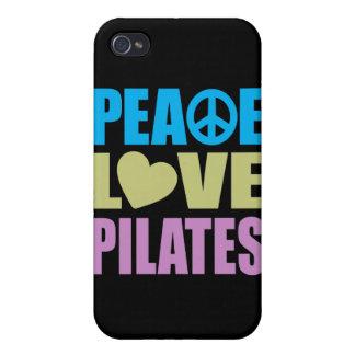 Amor Pilates de la paz iPhone 4 Carcasa
