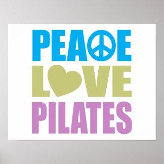 Amor Pilates de la paz Impresiones