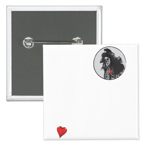 Amor Pin Cuadrada 5 Cm