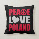 Amor Polonia de la paz Almohadas