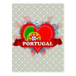 Amor Portugal del vintage I Tarjetas Postales