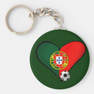 Amor, Portugal e Futebol - O que mais vôce quer ? Keychain