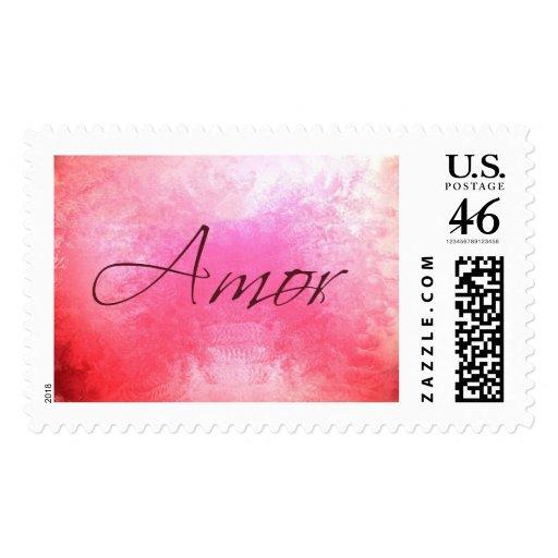 Amor Postage Stamp