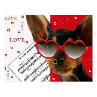 Amor Postal del el día de San Valentín de la dive