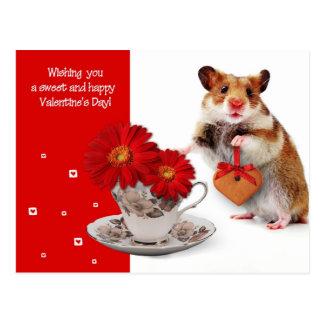 Amor. Postal del el día de San Valentín de la dive