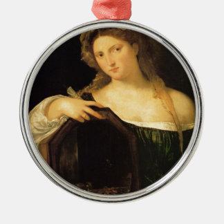 Amor profano por Titian Adorno Redondo Plateado