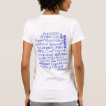 Amor propio/una verdad universal camiseta