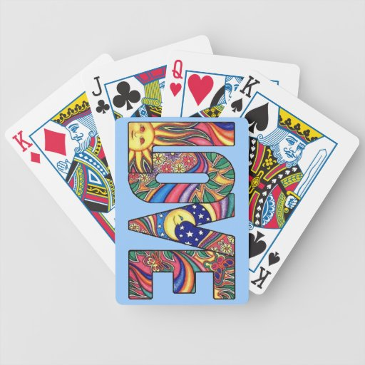 Amor psicodélico baraja de cartas