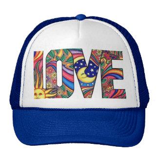 Amor psicodélico gorra