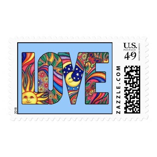 Amor psicodélico sellos