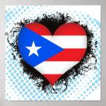 Amor Puerto Rico del vintage I Impresiones