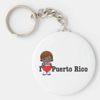 Amor Puerto Rico Llaveros