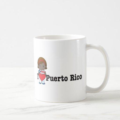 Amor Puerto Rico Taza