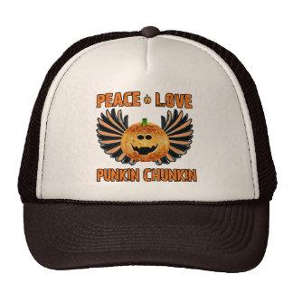 Amor Punkin Chunkin de la paz Gorro De Camionero