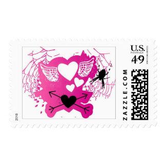 Amor punky sello postal