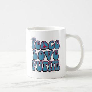 Amor Purim.png de la paz Taza Clásica