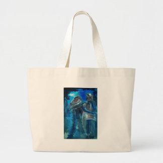 amor puro bolsas lienzo