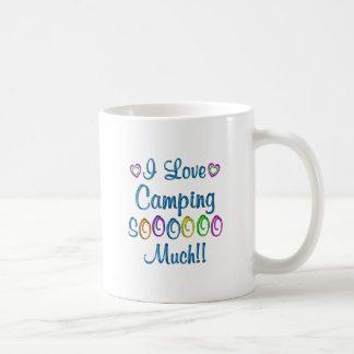 Amor que acampa tanto tazas de café