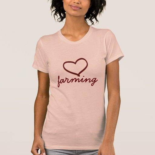 Amor que cultiva, camiseta para ella playera