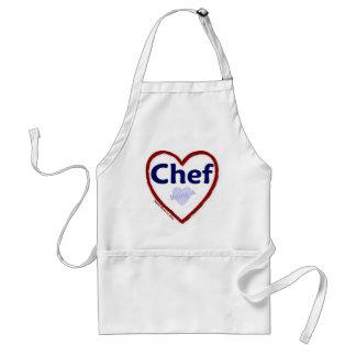 Amor que es un cocinero delantal