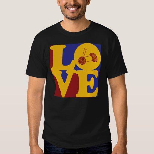 Amor que hace punto camisas