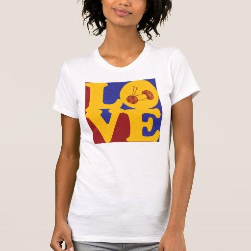 Amor que hace punto camiseta