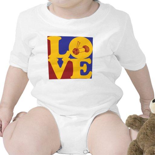 Amor que hace punto trajes de bebé