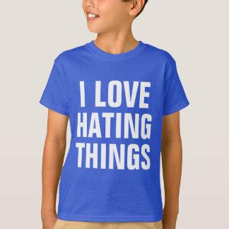 Amor que odia cosas playera