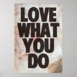 Amor qué usted lo hace impresiones