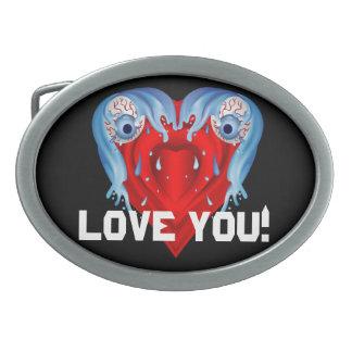 Amor que usted modifica para requisitos hebilla cinturon oval