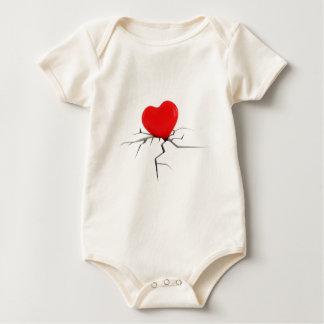 Amor quebrado body para bebé